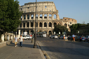 Rome, bezienswaardigheden in de omgeving van Contignano in ...